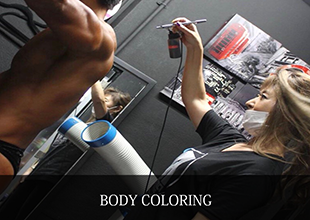 BODY COLORING